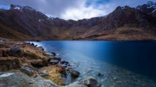Narinder Chahal from Birmingham took this stunning photo of Devil's Kitchen in Snowdonia on a recent visit to north Wales