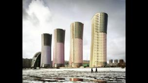 Grand Park Towers, Moscow, 2009