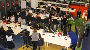 BBC Birmingham School Report newsroom