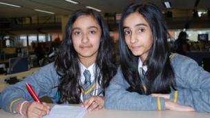 Nishkam High School Reporters Karina and Reanne