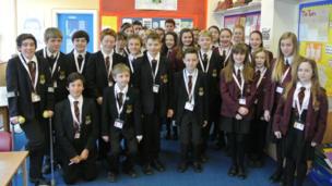 The School Report team at St Philip Howard Catholic High School