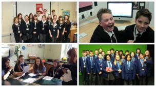 School Reporters doing a great job at Bury St Edmunds County Upper School, Tendring Technology College, St Thomas More Catholic High School in Crewe, and The Market Bosworth School.
