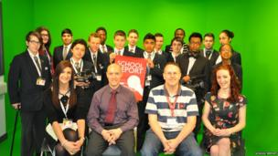 Students from Bedford Academy were joined by Mark Eames, Senior Broadcast Journalist for BBC World News.