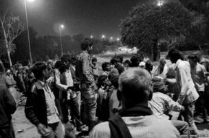 Delhi's homeless