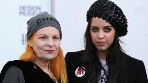 Dame Vivienne Westwood and Peaches Geldof