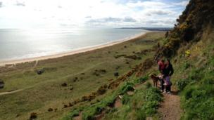 Family in St Cyrus