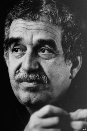 Undated photo of Colombian author Gabriel Garcia Marquez