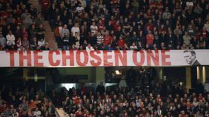 'The Chosen One' banner, 25 September 2013