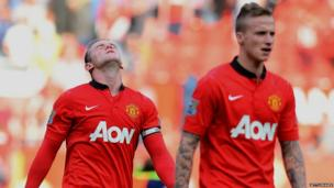 Wayne Rooney after United's defeat to West Brom, 28 September 2013