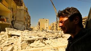 Ian Pannell in Aleppo
