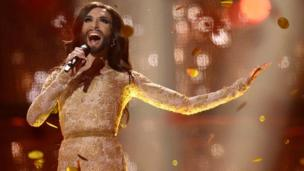 Austria's entry Conchita Wurst