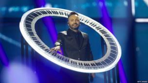 Ovi from Romania in a circular piano