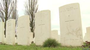 World War One graves