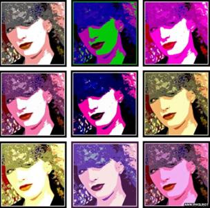 Manipulated portraits