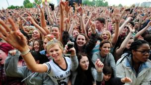 Radio 1 Big Weekend crowd