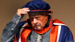 Photographer David Bailey receives an honorary doctorate