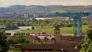 The Waverley in Clydebank
