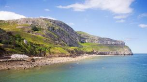 The Great Orme, Llandudno, as seen by Gill Stafford, Chirk, Wrexham.