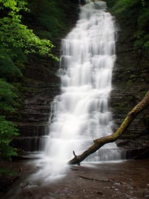 Water Break-Its-Neck waterfall