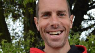 Steven Way - marathon competitor