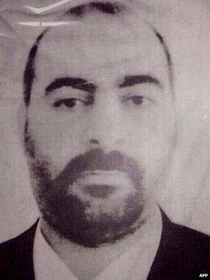 Image said to be of Abu Bakr al-Baghdadi released by Iraqi Ministry of Interior