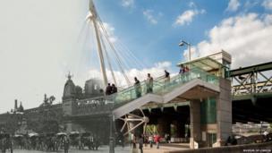 Charing Cross Railway Bridge