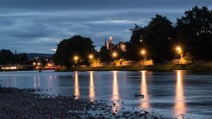 Lights on River Ness