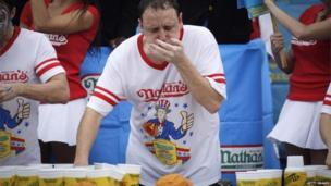 "Joey ""Jaws"" Chestnut"