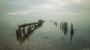 Whitstable in the mist