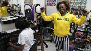 African woman in Brazil