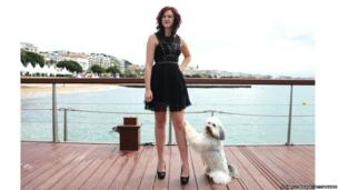 Ashleigh and her dog Pudsey