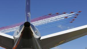 RAF Red Arrows display team