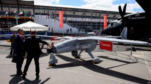 Selex ES Falco UAV (unmanned aerial vehicle)