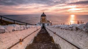 St Abbs lighthouse