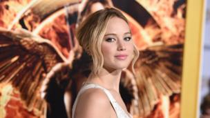 Jennifer Lawrence makes UK top 40