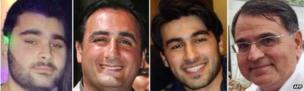 Yohan Cohen, Philippe Braham, Yoav Hattab and Francois-Michel Saada