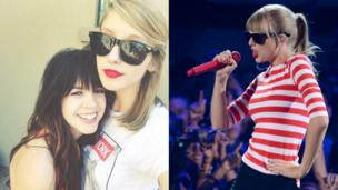 'Taylor Swift thought I was her'