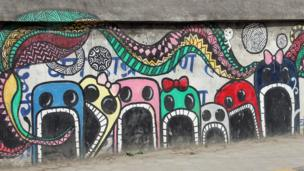 ArtLab, a group of artists from Kathmandu University's School of Art, are undoubtedly the most active on the streets.