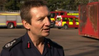 Chief Fire Officer Dave Curry