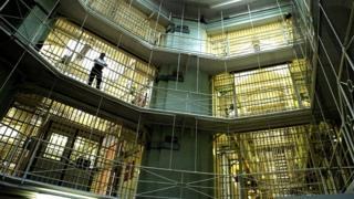 Pentonville Prison interior