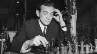 Korchnoi in Hastings in 1955