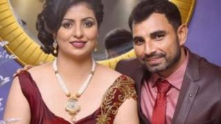 Mohammed Shami with his wife Hasin Jahan
