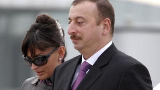 Ильхам Алиев жубайы Мехрибан