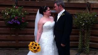 Callie-Anne and her husband