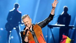 Westlife star out of Eurovision final