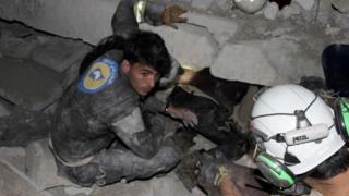 Операция на руинах мечети