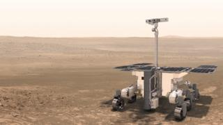 Artwork ExoMars
