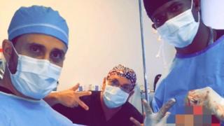 Médicos no snap