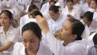 Enfermeras filipinas