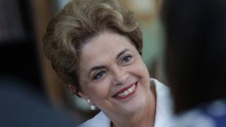 Brazil's cabinet 'all white and male'